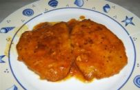 Scaloppine allo zafferano