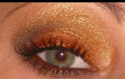 Make up tutorial oro e bronzo sensuale