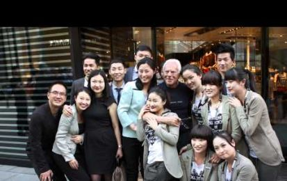 La sfilata-evento di Giorgio Armani in Cina [VIDEO]