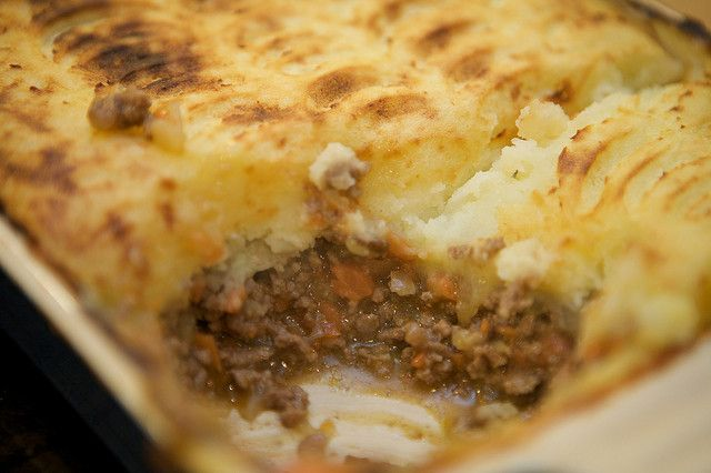 Cottage pie pourfemme for Foto di cucina inglese cottage