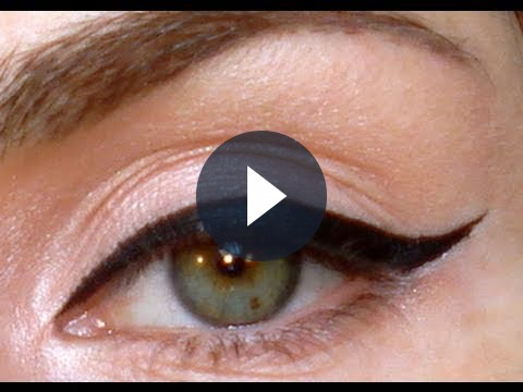 Come truccarsi, dritte utili per l&#8217;applicazione dell&#8217;eyeliner [VIDEO]