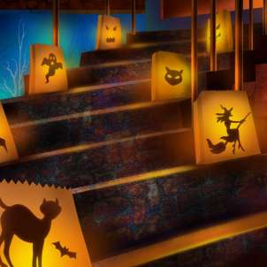 Decorare la casa per Halloween