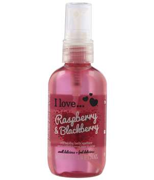 Acqua profumata per il corpo I Love Raspberry and Blackberry