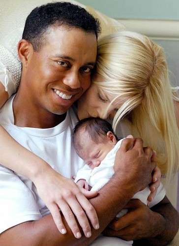 Tiger Wood e Elin Nordegren