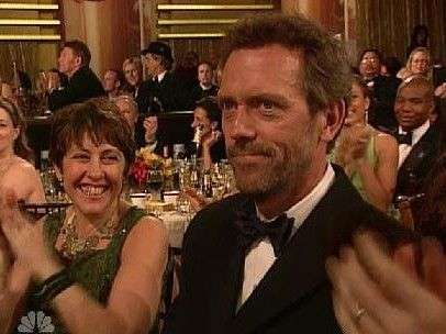 Hugh Laurie e Jo Green