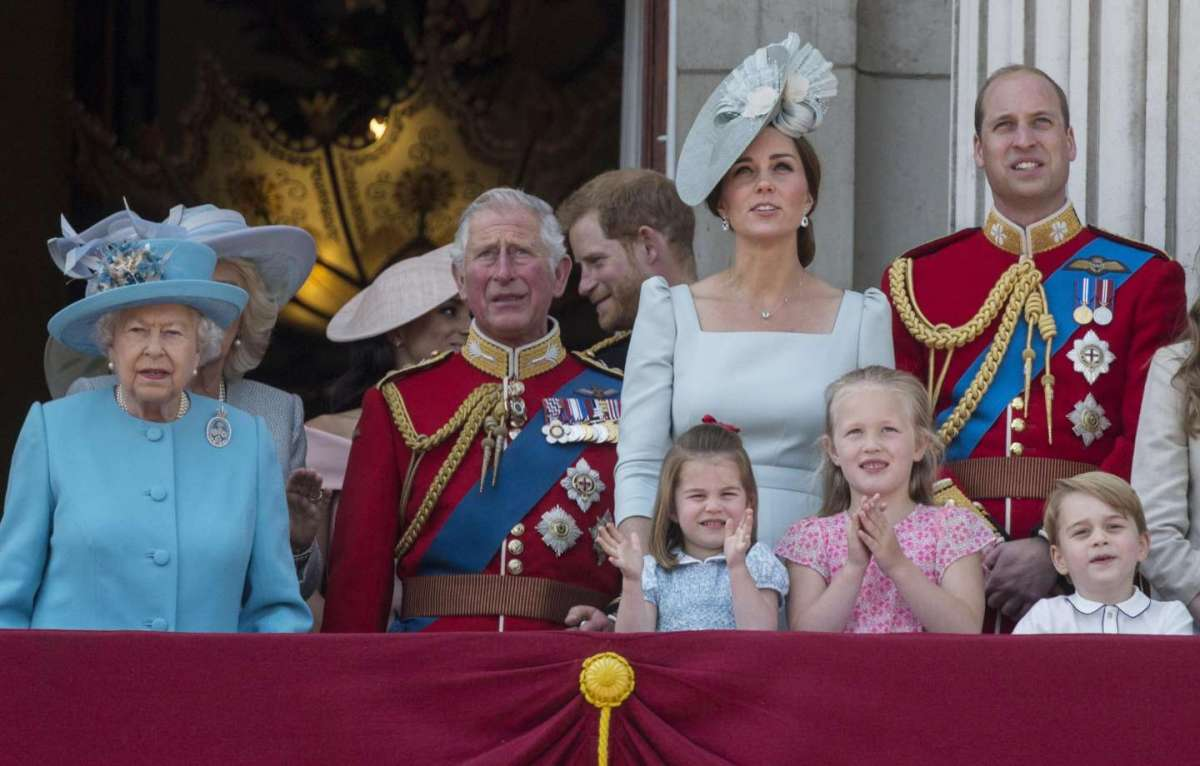 Trooping the Colour 2018, le foto