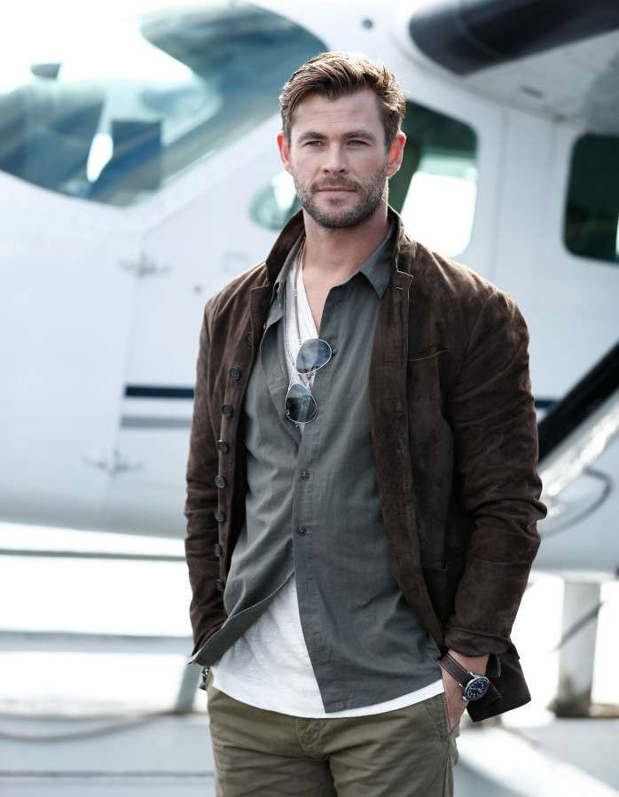 Chris Hemsworth, bello... è dir poco!