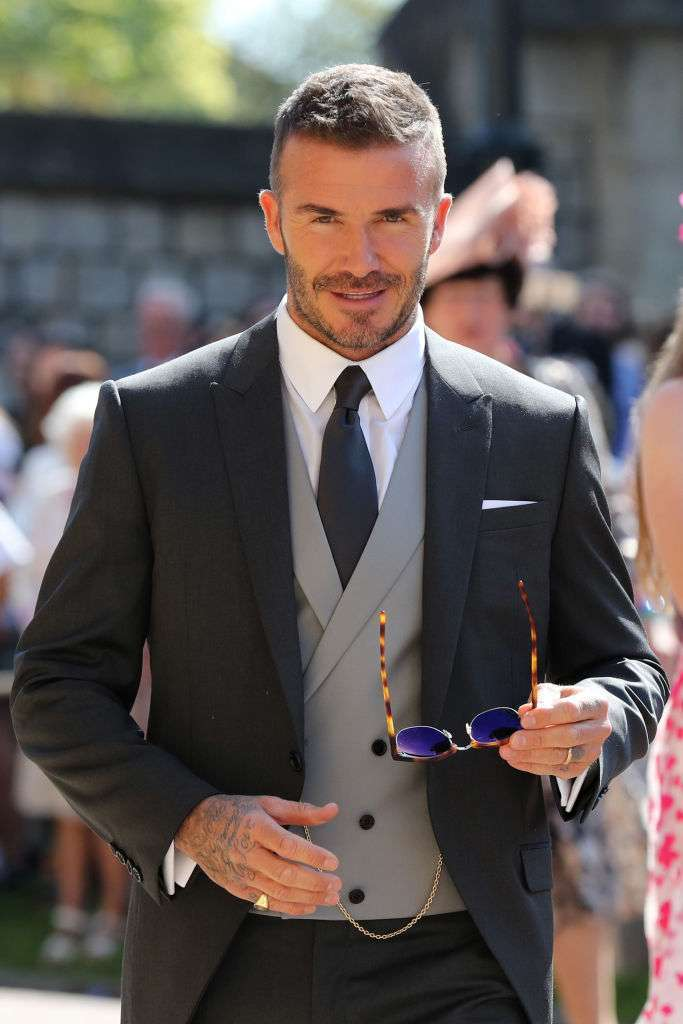 David Beckham, sexy in ogni occasione