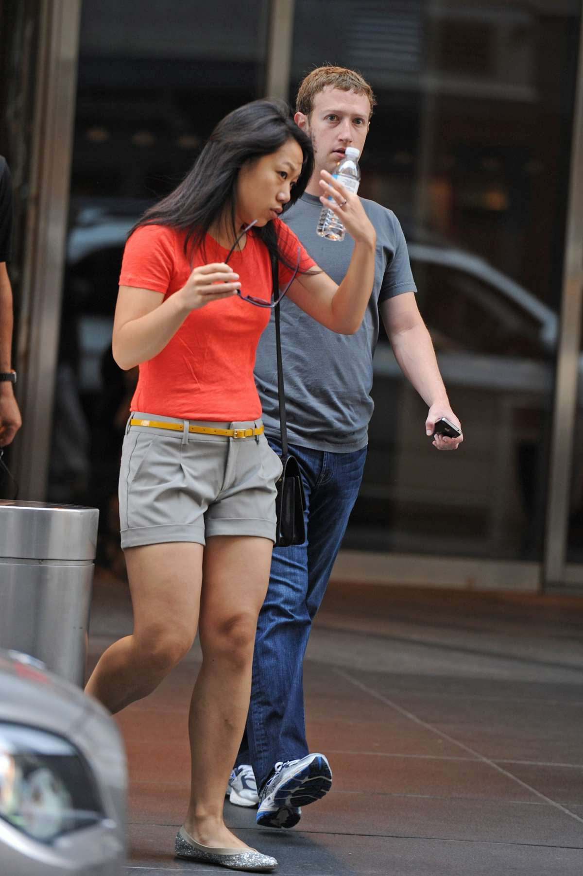 Mark Zuckenberg e Priscilla Chan a New York