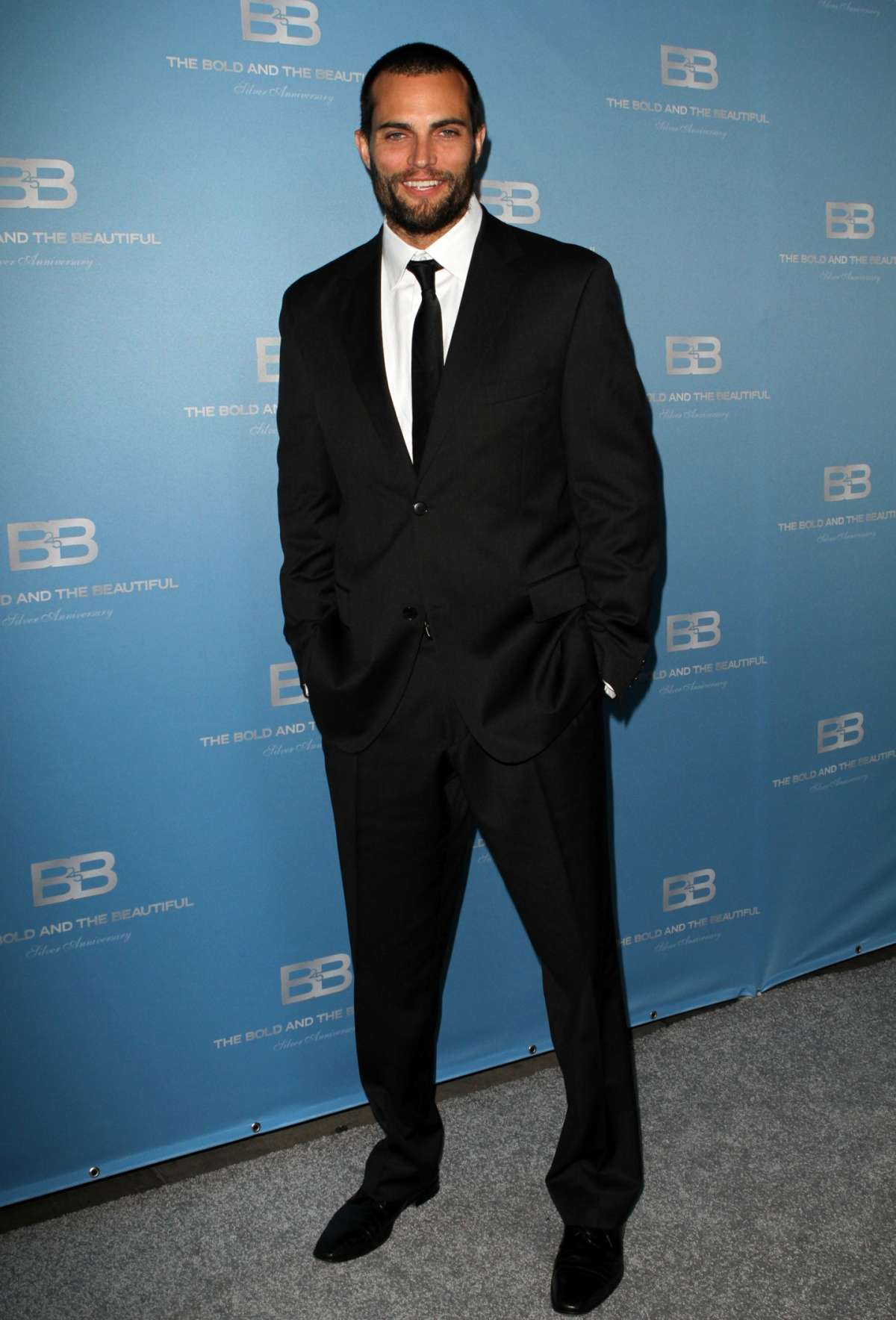 Scott Elrod al 25esimo anniversario di Beautiful nel 2012 a Los Angeles