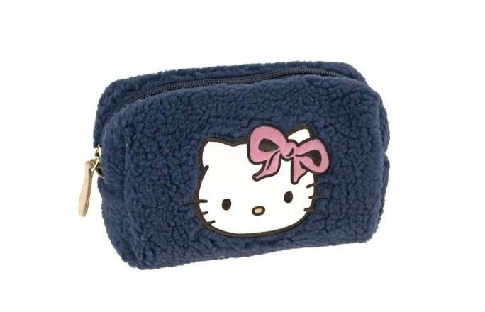 Astuccio Hello Kitty di peluche