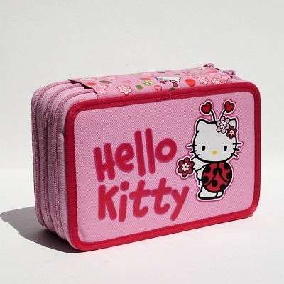 Astuccio Hello Kitty rosa