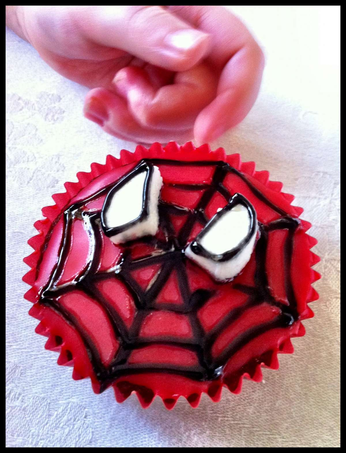 Cupcake di spiderman