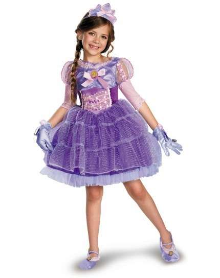 Costume in tulle