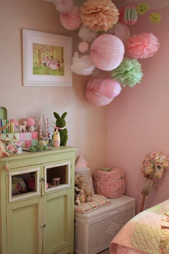 Shabby chic in cameretta