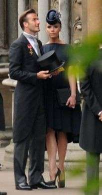 Matrimonio William e Kate Beckham