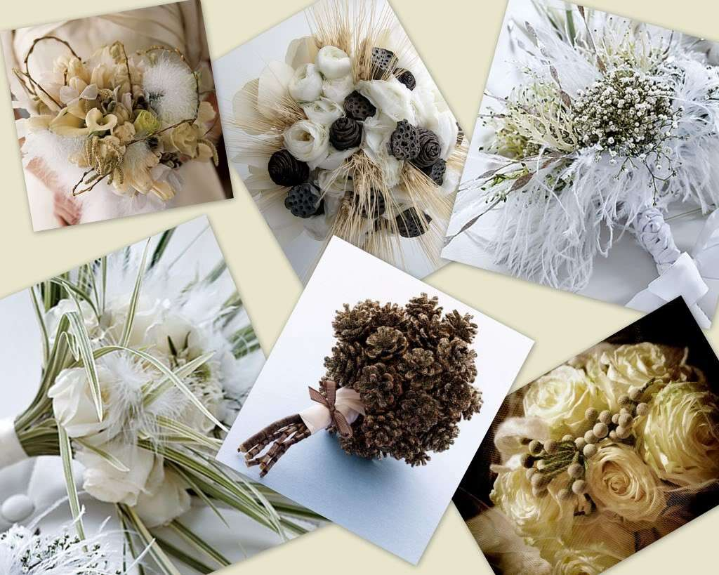 Bouquet sposa invernale idee