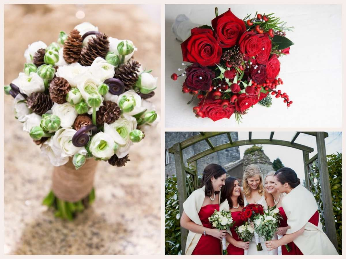 Bouquet sposa Natale, tante idee