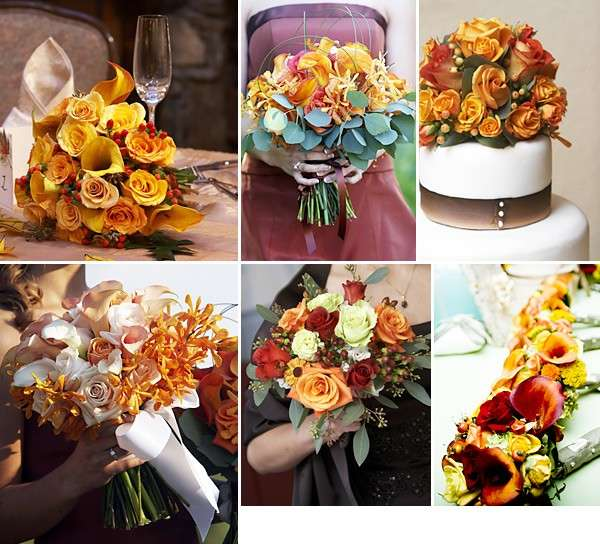 Bouquet in giallo per un matrimonio autunnale