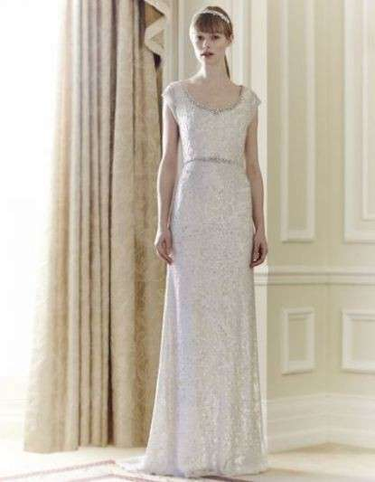 Abito in pizzo Jenny Packham