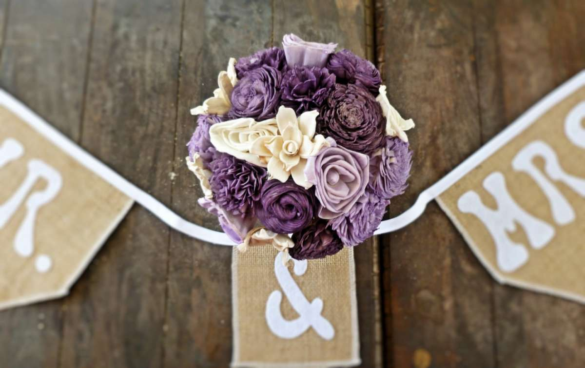 Fiori per matrimonio country chic
