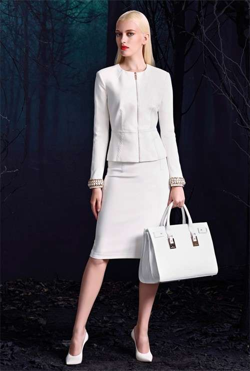 Tailleur bianco chic 2015