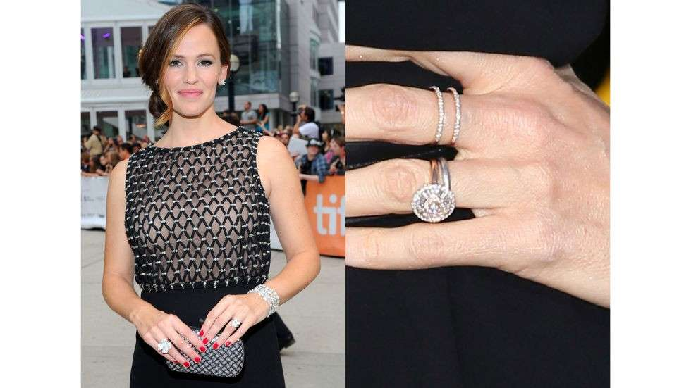 L'anello Harry Winston di Jennifer Garner