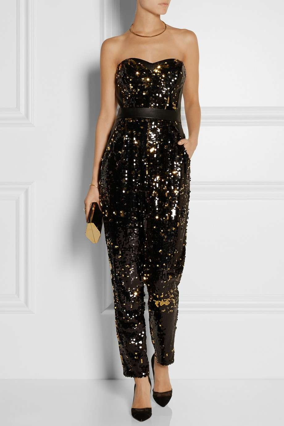 Jumpsuit con paillettes Milly