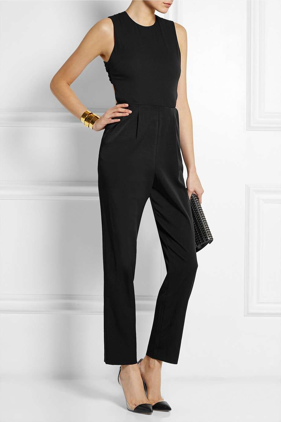Jumpsuit a schiena nuda Alice and Olivia