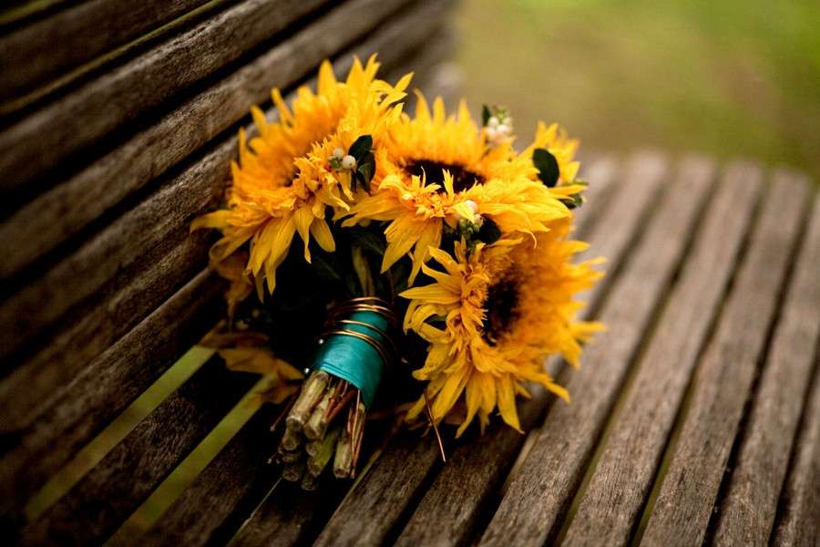 Bouquet autunnale chic