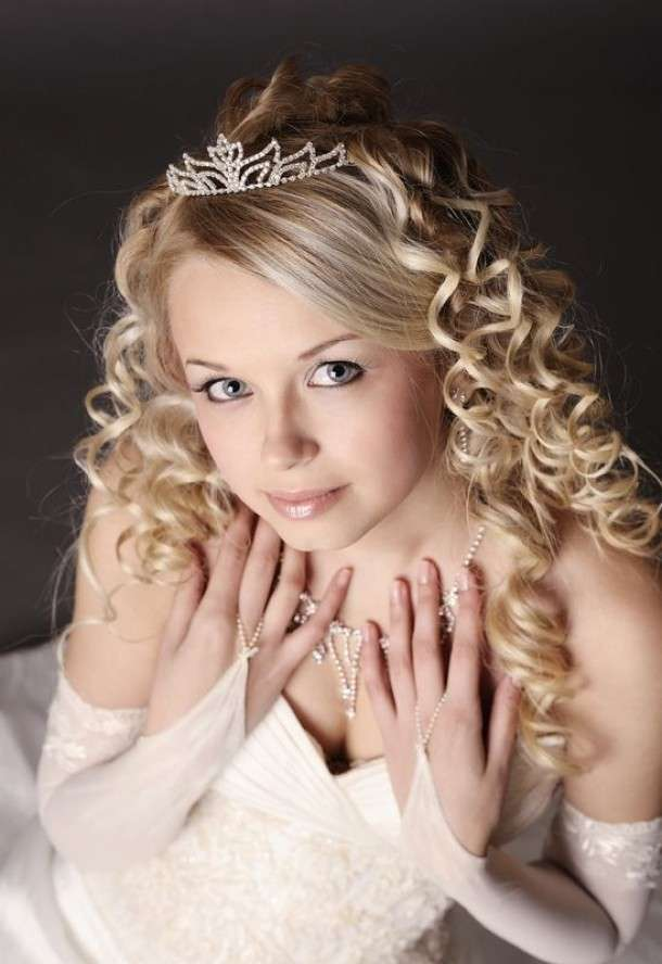 best curly hair styles for acconciature sposa da principessa foto matrimonio 4103