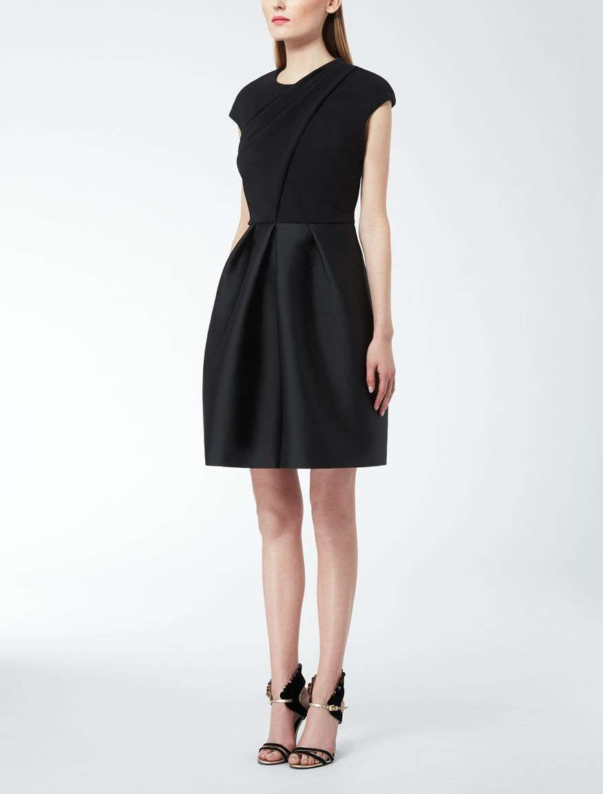 Minidress nero Max Mara
