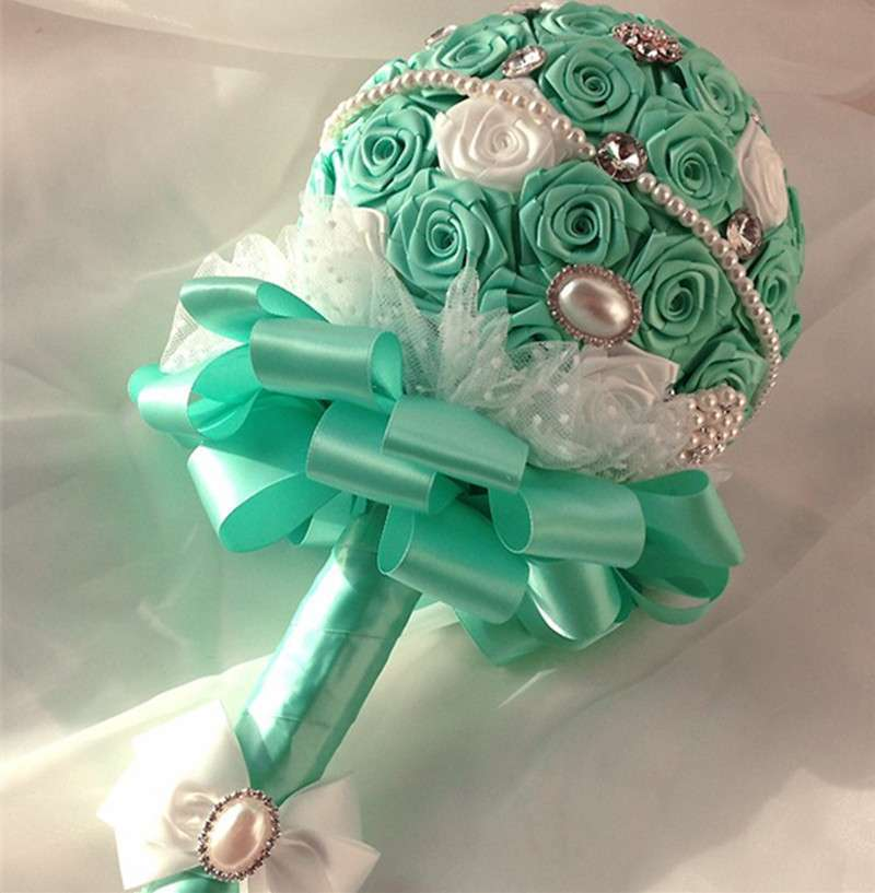Bouquet color tiffany