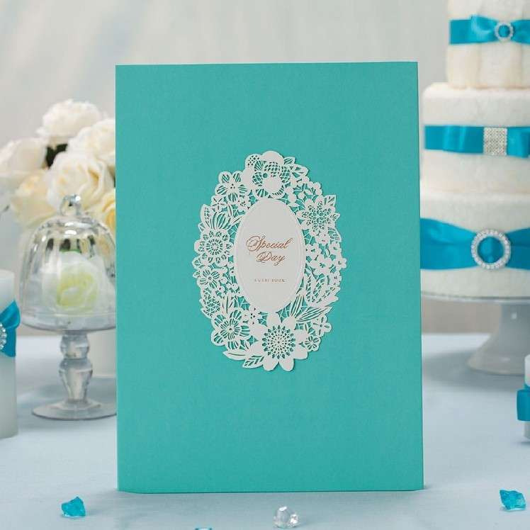 Guestbook color tiffany