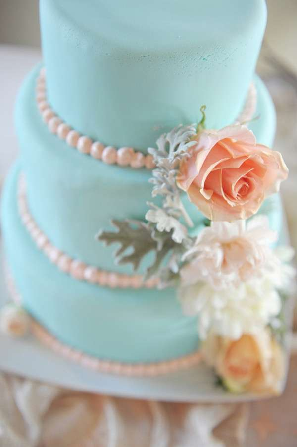 Torta color tiffany