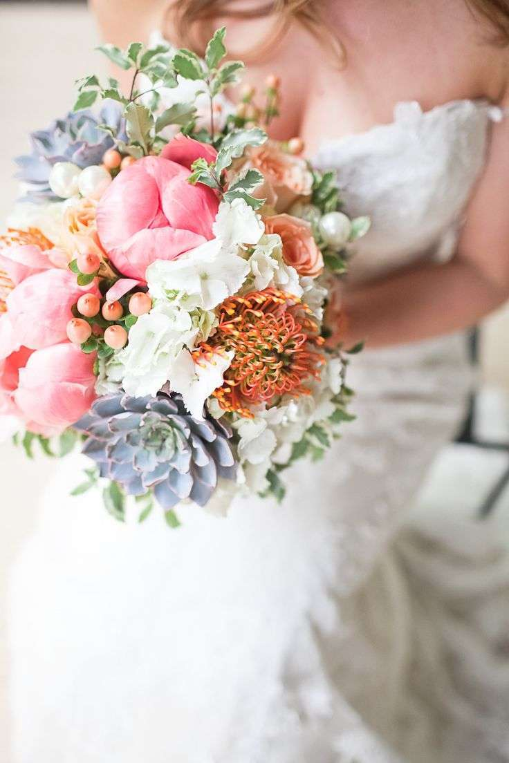 Bouquet boho chic