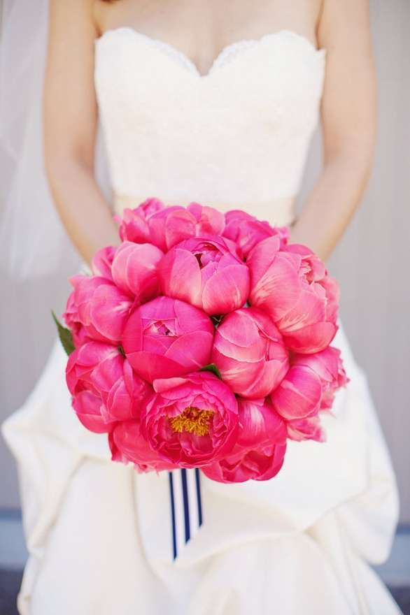 Bouquet fucsia chic