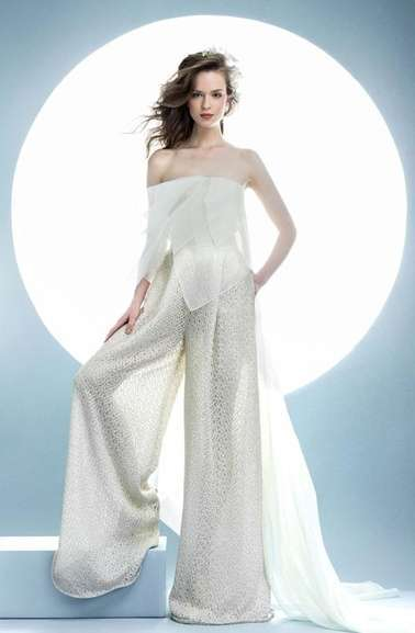 Jumpsuit da sposa Angel Sanchez