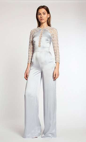 Jumpsuit in satin Temperley London