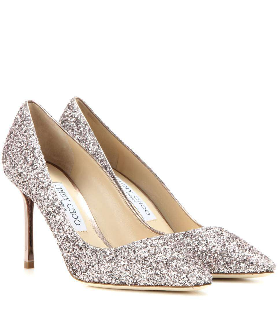 Pumps glitter Jimmy Choo