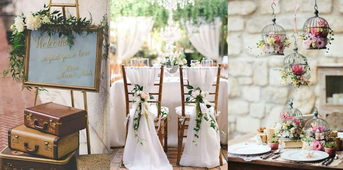 Musica Matrimonio Country Chic : Decorazioni per il matrimonio shabby chic foto
