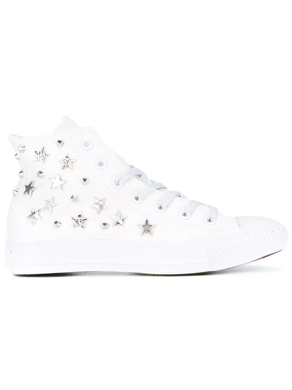 Sneakers con stelle Converse
