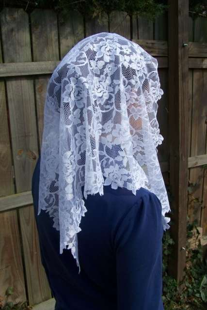 Velo in pizzo spagnolo Veils By Lily