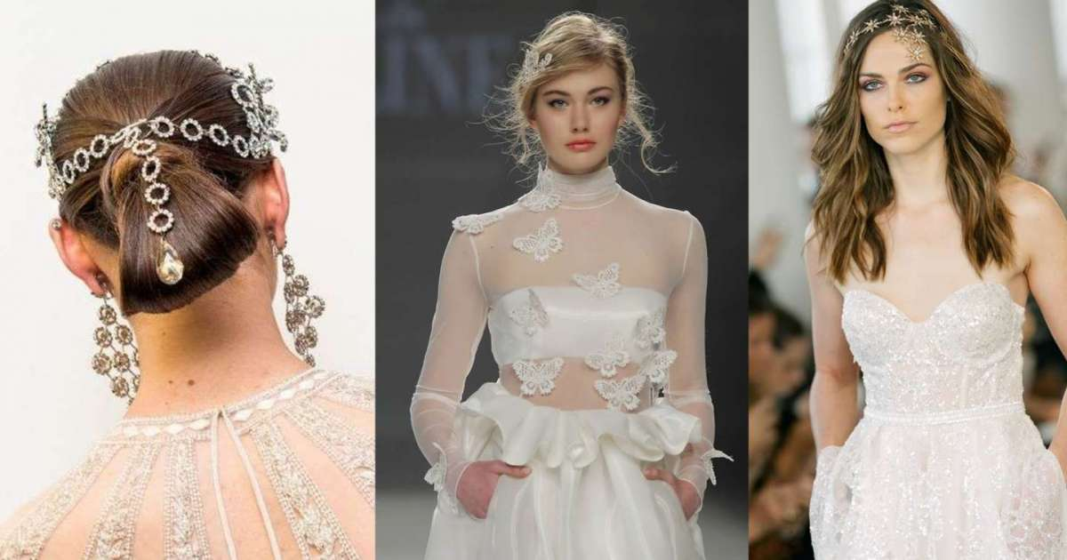 Tendenze acconciature da sposa 2018