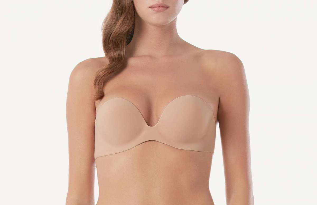 Reggiseno push-up senza bretelle