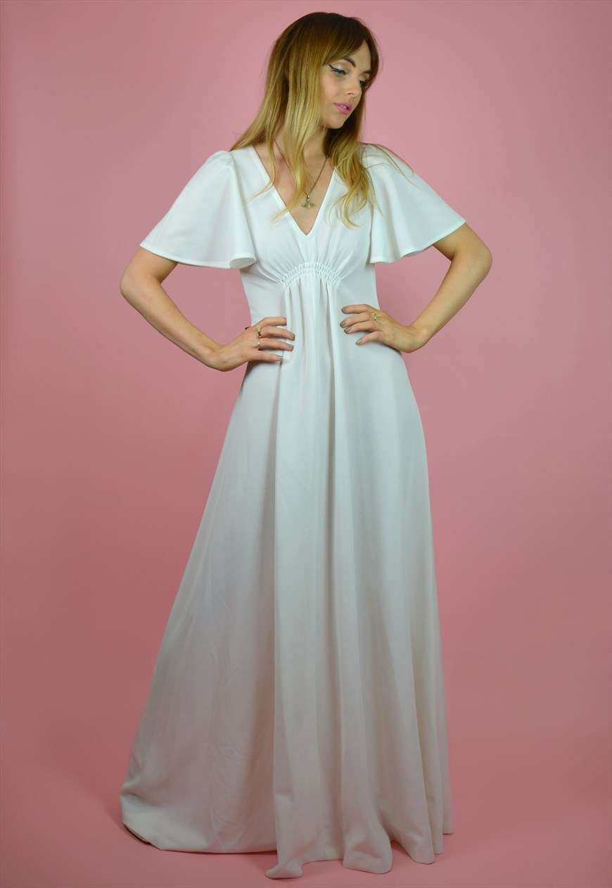 Abito da sposa vintage anni '70 The Vintage Brides' Club su Asos Marketplace