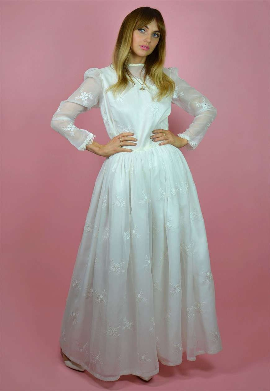 Abito da sposa vintage anni '60 The Vintage Brides' Club su Asos Marketplace