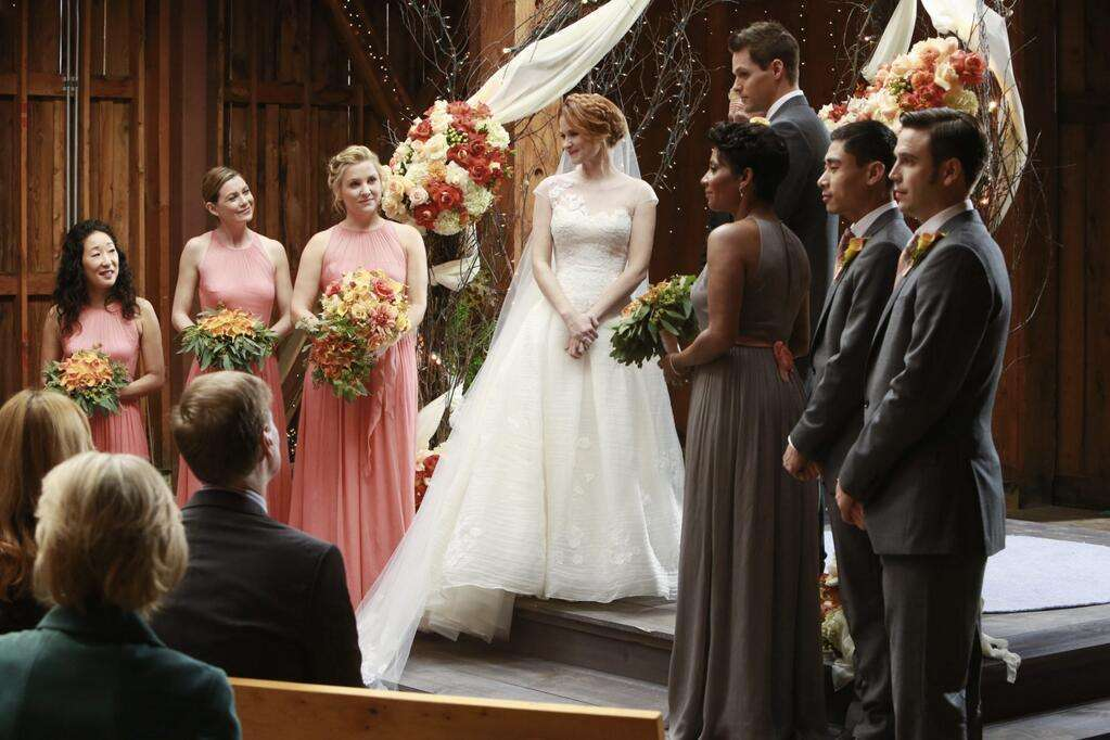 L'abito da sposa di April Kepner in Grey's Anatomy