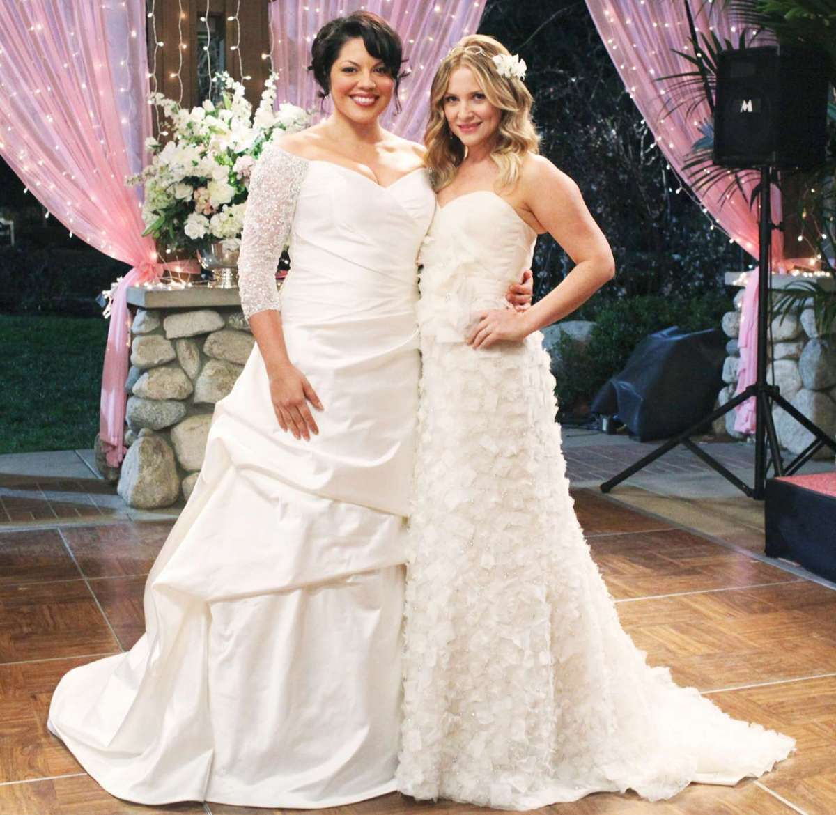 Gli abiti da sposa di Callie e Arizona in Grey's Anatomy