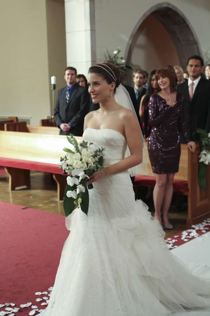 L'abito da sposa di Brooke Davis in One Tree Hill